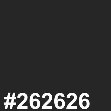 Black #262626