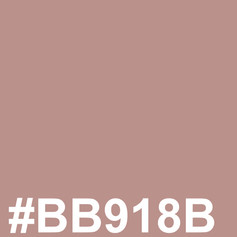 #BB918B