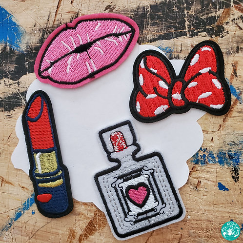 Girly Embroidered Patches Pack G-EPP10