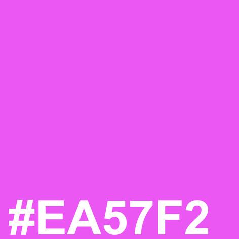 Dark pink #EA57F2