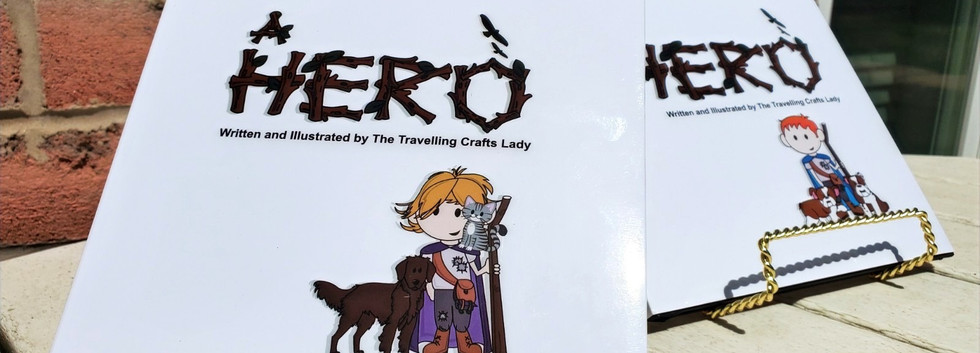 Displaying both female and male custom storybook covers