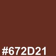 Brown #672D21