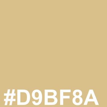 Light light blond #D9BF8A