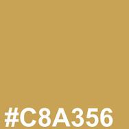 Light blond #C8A356