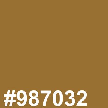 Dark blond #987032