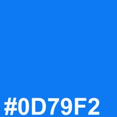 Blue #0D79F2