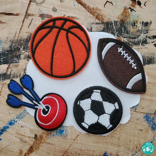 Sports Embroidered Patches Pack S-EPP22