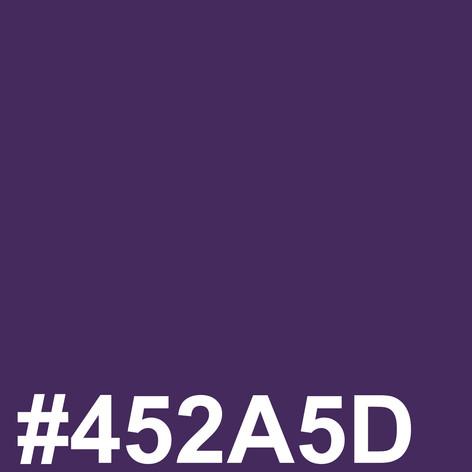 Dark purple #452A5D