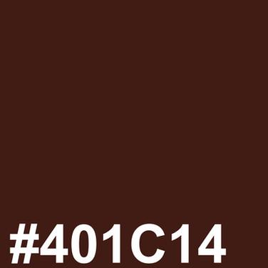Dark brown #401C14