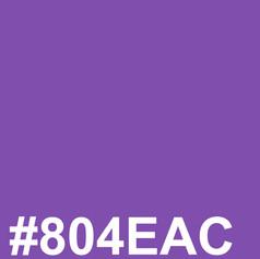Purple #804EAC
