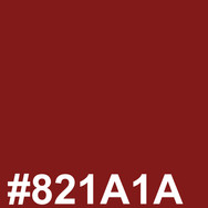 Red #821A1A