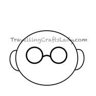 Circle glasses