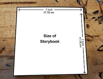 Size of custom stroybook