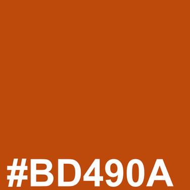 Dark orange #BD490A