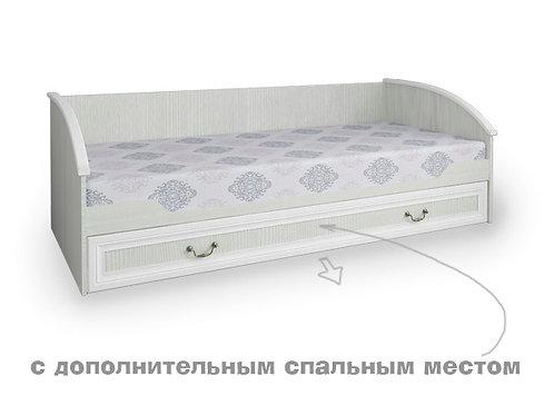 """Кроватка """"Классика""""с дополнительным спальным местом"""