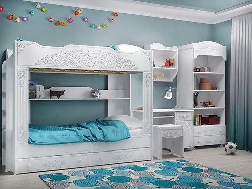 Кровать  Ассоль двухъярусная