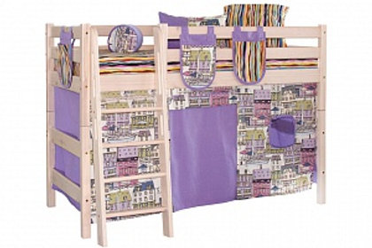 Штора на кровать