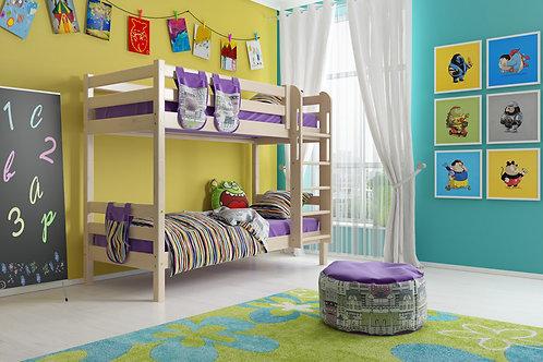 Двухъярусная кровать «Соня» с прямой лестницей. Вариант 9