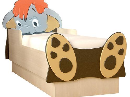 Детская кровать Мамонтенок