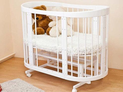 Детская кроватка-трансформер Красная звезда Паулина 8 в 1