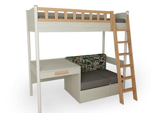 Кровать-комплекс Феникс, деревян.