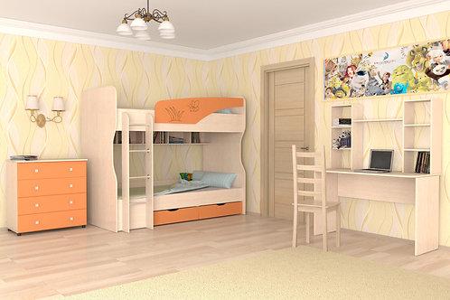 Детская Юниор-4, комплектация 2, оранж.