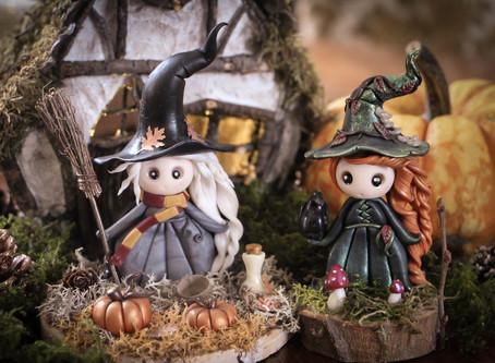 Une sorcière pour Samhain