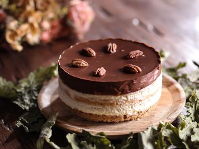 Entremet Pécan & Chocolats