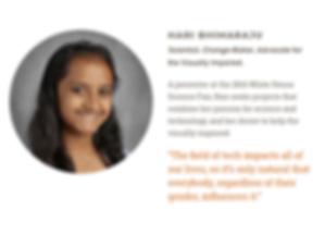 CBS Cares Women's History Month 2019: Hari Bhimaraju