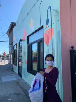 Donating masks to CCMP (Coalition of Concerned Medical Professionals)