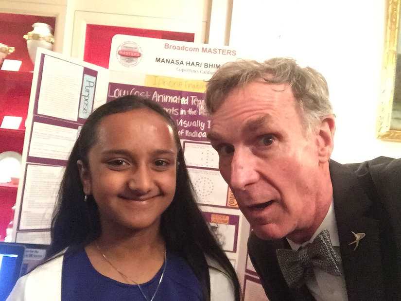 Bill Nye with Donum Visi