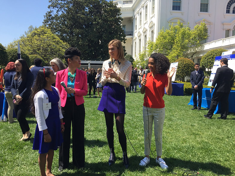 White House science fair with Donum Visi