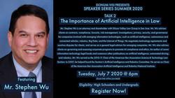 SpeakerSeries_Talk2_Stephen_Wu