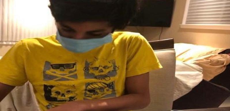 Shrutik working on masks