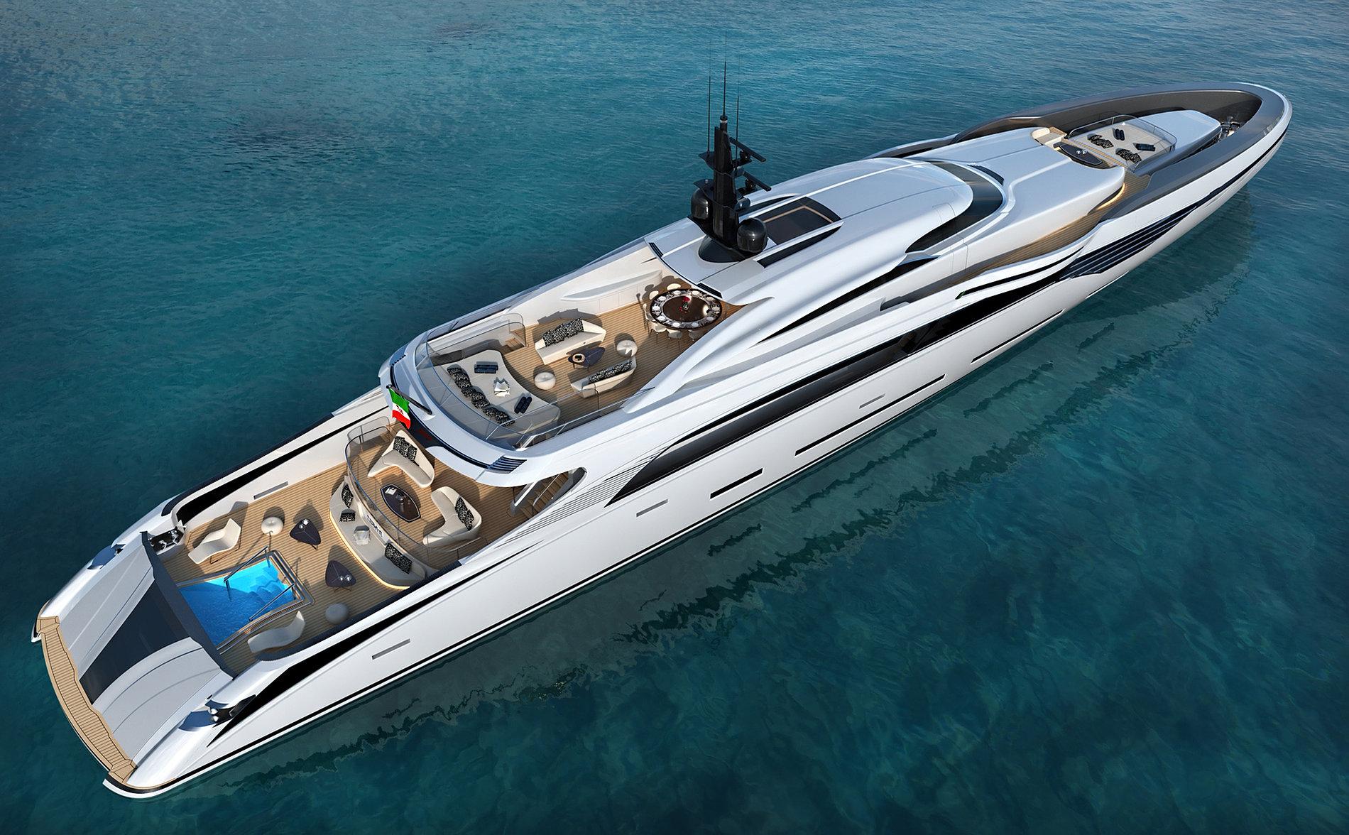 Federico fiorentino yacht design for Yacht design milano
