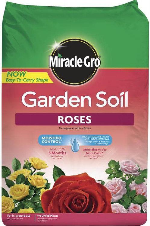 Miracle Gro Roses Garden Soil