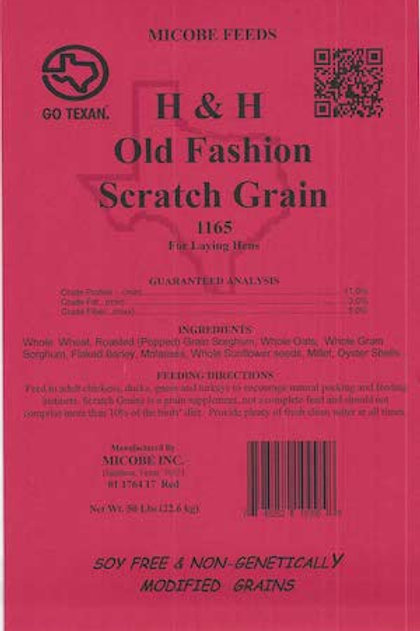 H and H Old Fashion Scratch Grain Feed