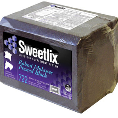 Sweetlix Rabon Molasses Pressed Block - 40 lb