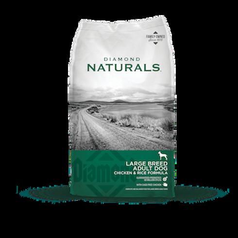 Diamond Naturals Large Breed Adult Dog Chicken & Rice Formula 40 lbs.