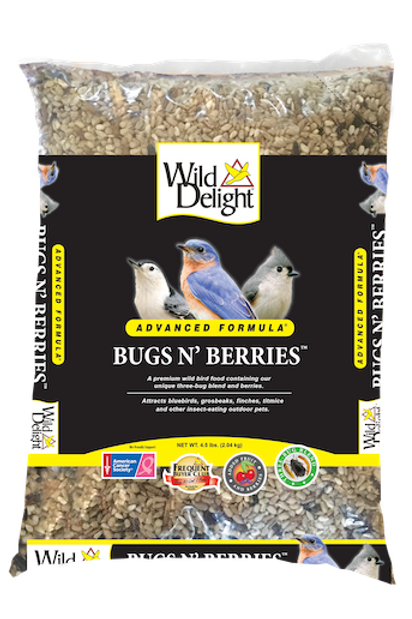 Wild Delight Bugs N' Berries 4.5 lbs.