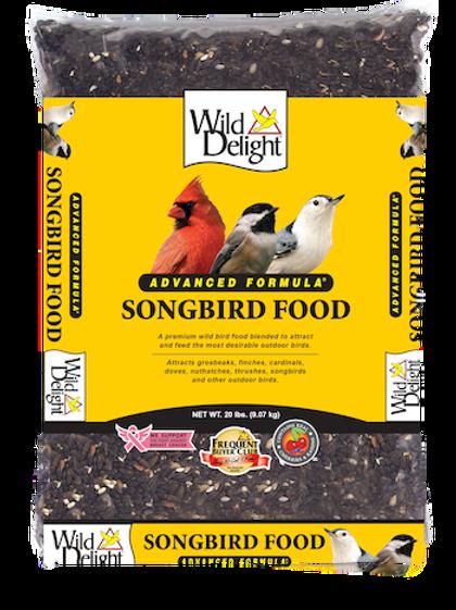 Wild Delight Songbird Food 20 lbs. or 5 lbs.