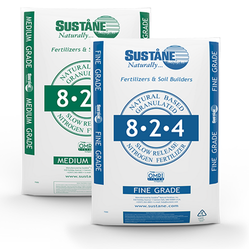 Sustained Naturally Organic and Natural 8-2-4
