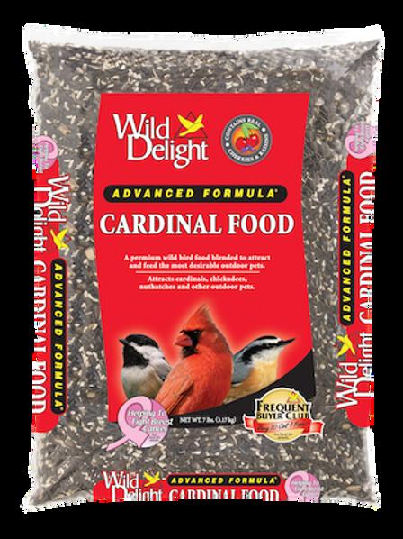 Wild Delight Cardinal Food 20 lbs. or 7 lbs.