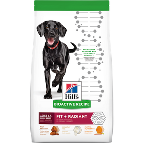 Hill's Bioactive Recipe Adult 1-5 Large Breed Fit + Radiant 21.5 lbs.
