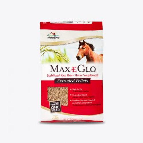Manna Pro Max E Glo Stabilized Rice Bran Pellets
