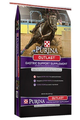 Purina Outlast Gastric Support Supplement Horse Feed