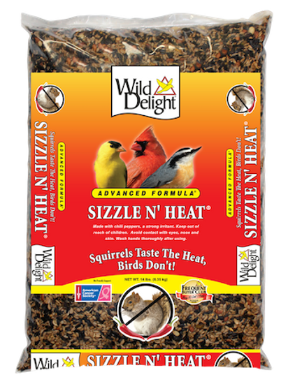 Wild Delight Sizzle N' Heat 14 lbs. or 5 lbs.