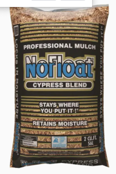 No Float Cypress Blend Mulch