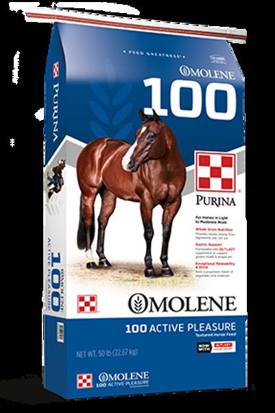 Purina Omolene 100 Active Pleasure Textured Horse Feed