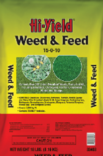 Hi Yield Weed and Feed